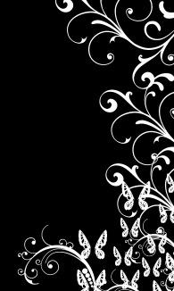 Black n White Butterflies