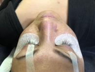 Before Lash touch up
