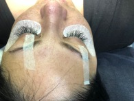 After Lash Touchup